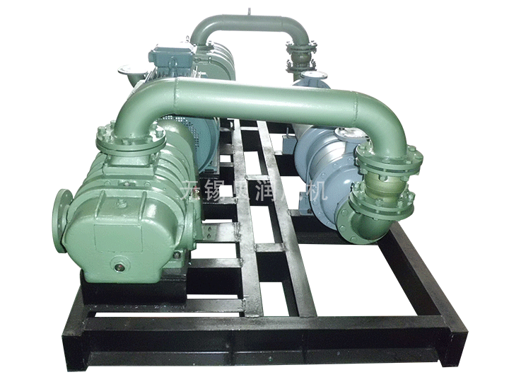 Two stage high pressure Roots blower